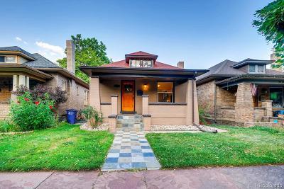 Denver Single Family Home Active: 3324 Zuni Street
