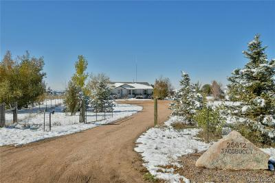 Greeley Single Family Home Active: 25612 Highway 392