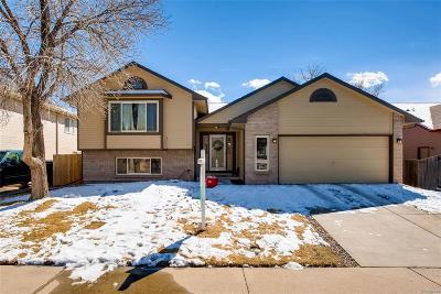 Littleton Single Family Home Active: 12206 West Crestline Drive