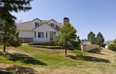 Castle Rock Single Family Home Under Contract: 2813 Masters Lane