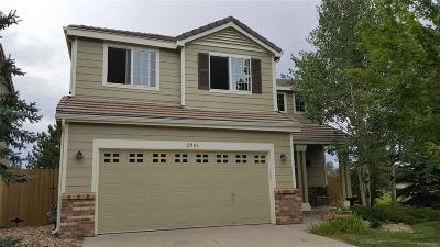 Superior Single Family Home Under Contract: 2861 Castle Peak Avenue