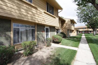 Aurora Condo/Townhouse Active: 12642 East Kansas Place