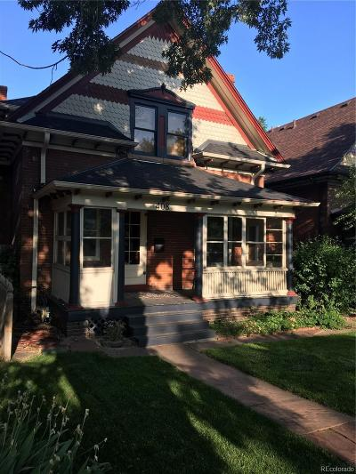 Denver Single Family Home Active: 408 South Lincoln Street