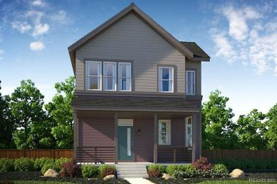 Denver Single Family Home Active: 9377 East 59th Avenue