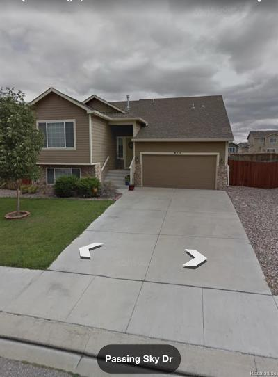 Colorado Springs Single Family Home Active: 6531 Passing Sky Drive