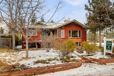 Denver Single Family Home Under Contract: 4425 West 50th Avenue