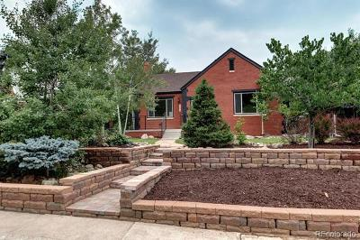 Denver Single Family Home Active: 1285 Forest Street