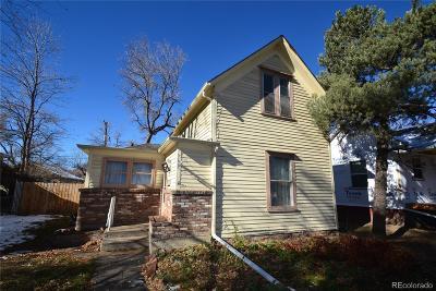 Longmont Single Family Home Under Contract: 615 Kimbark Street
