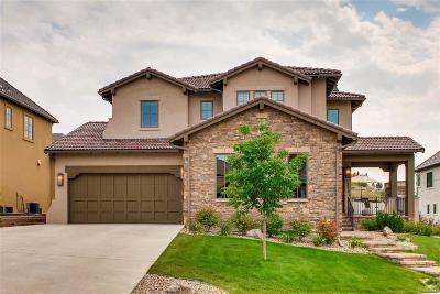 Highlands Ranch Single Family Home Active: 10700 Flowerburst Court