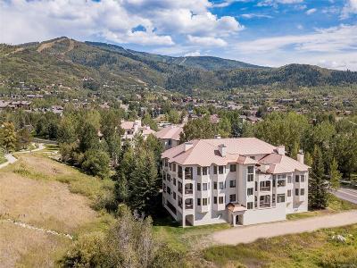 Steamboat Springs Condo/Townhouse Active: 2800 Eagleridge Drive #8B