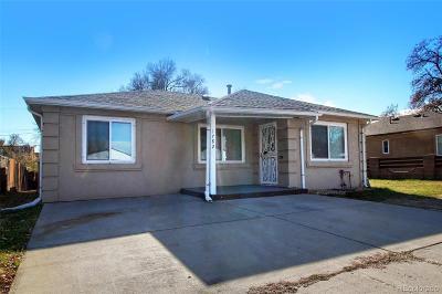Denver Single Family Home Active: 1782 West Kentucky Avenue