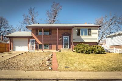 Northglenn Single Family Home Under Contract: 11895 Spring Drive