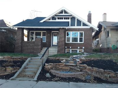 Denver Single Family Home Active: 3034 West Denver Place