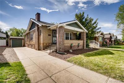 Denver Single Family Home Active: 2077 South Corona Street