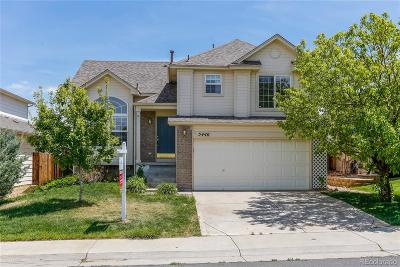 Aurora Single Family Home Active: 5440 South Versailles Way