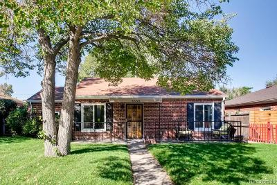 Denver Single Family Home Active: 3635 Adams Street