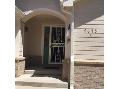 Condo/Townhouse Sold: 9675 Brentwood Way #C