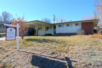 Denver Single Family Home Active: 2723 South Meade Street