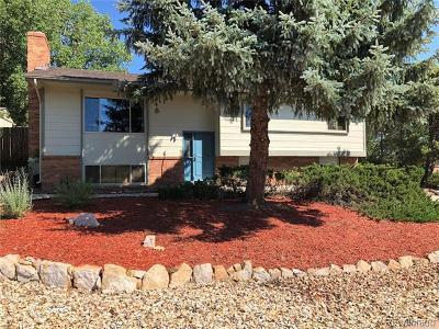 Colorado Springs Single Family Home Active: 350 East Rockrimmon Boulevard