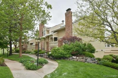 Littleton CO Condo/Townhouse Active: $325,000