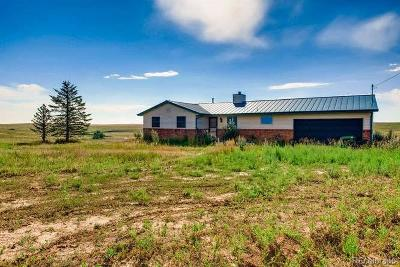 Elbert County Single Family Home Under Contract: 10250 Sun Country Drive