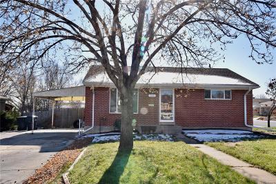 Denver Single Family Home Active: 520 Jennie Drive