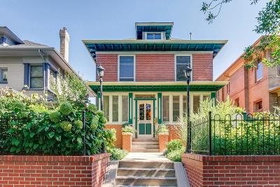 Denver Single Family Home Active: 1324 Saint Paul Street