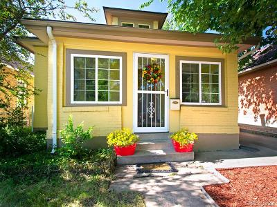 Denver Single Family Home Active: 3434 West 34th Avenue
