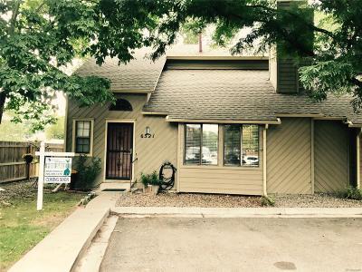 Arvada Condo/Townhouse Under Contract: 6321 Oak Court