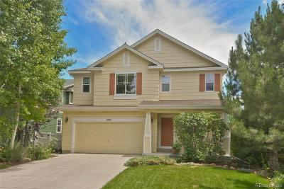 Longmont Single Family Home Under Contract: 4105 San Marco Drive