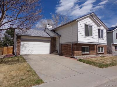 Highlands Ranch Single Family Home Under Contract: 9308 Hickory Circle