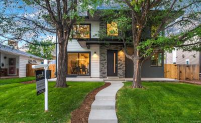 Denver Single Family Home Under Contract: 1618 South Madison Street