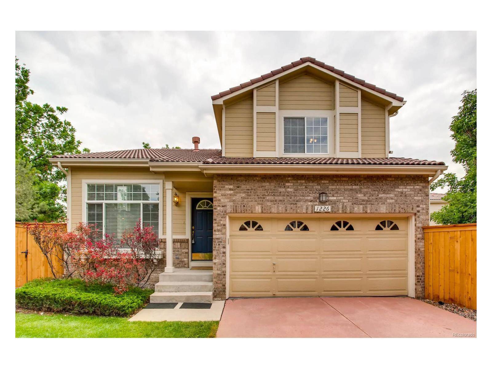 Listing 1226 Braewood Avenue Highlands Ranch CO MLS 8566661  Westridge Apartments Lakewood Co