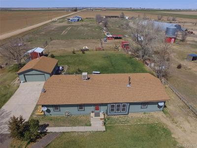 Keenesburg Single Family Home Active: 33015 County Road 10