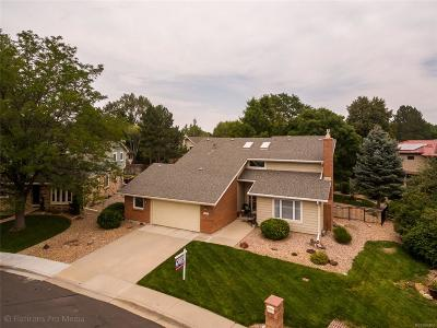 Broomfield Single Family Home Under Contract: 1370 Park Place