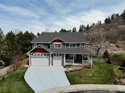 Castle Rock Single Family Home Active: 1394 Whitetail Drive
