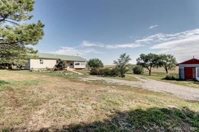 Elbert Single Family Home Active: 8655 County Road 94