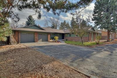 Boulder CO Single Family Home Active: $1,300,000
