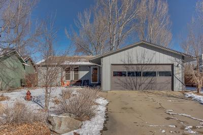 Niwot Single Family Home Under Contract: 7592 Nikau Drive