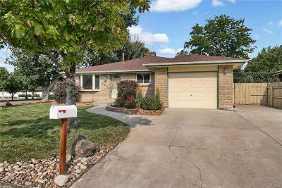 Arvada Single Family Home Active: 6324 Urban Street