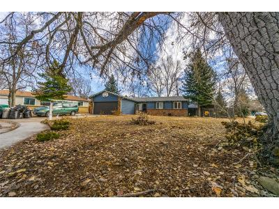 Aurora Single Family Home Under Contract: 2864 South Ouray Way
