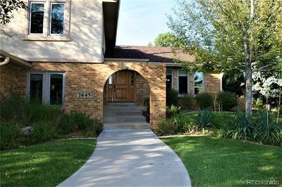 Littleton Single Family Home Active: 7445 West Radcliff Avenue