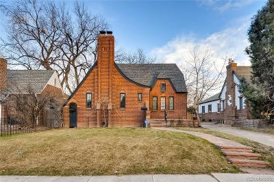 Denver Single Family Home Under Contract: 1370 Forest Street