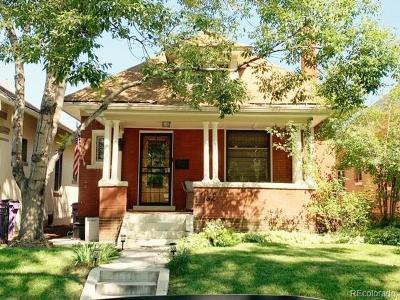 Denver Single Family Home Active: 1162 Adams Street