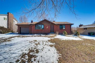 Arvada Single Family Home Active: 6526 Ward Road