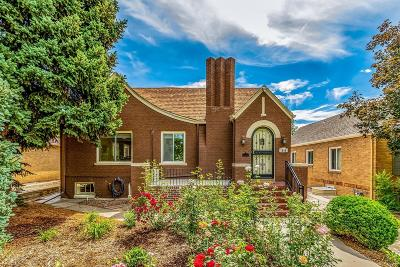 Denver Single Family Home Active: 1540 Ivy Street