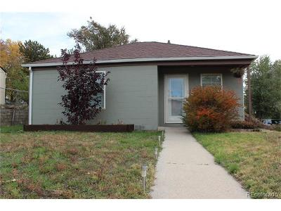 Denver Single Family Home Active: 1350 Knox Court