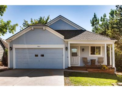 Littleton Single Family Home Active: 9832 Garwood Street