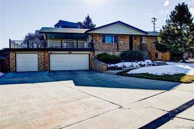 Arvada Single Family Home Under Contract: 8346 West 69th Drive