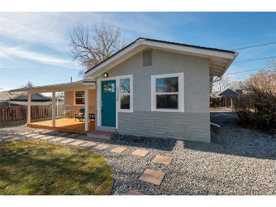 Wheat Ridge Single Family Home Under Contract: 2921 Depew Street